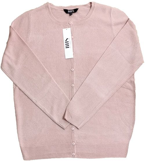 Bhs Cardigan Pale Pink
