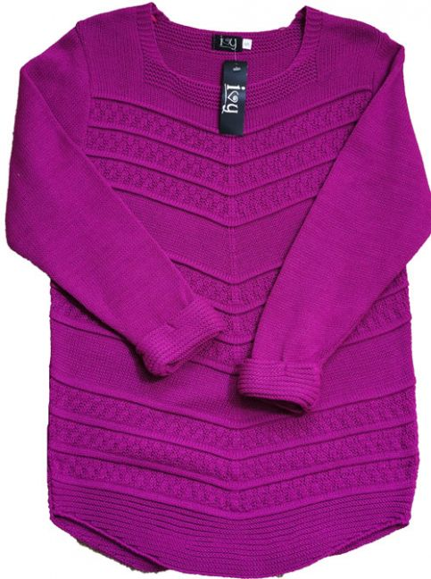 Chunky Knit Sweater Pink