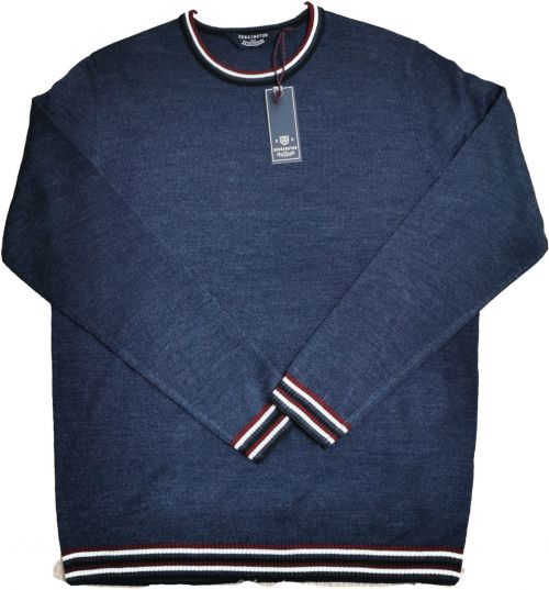 Kensington Crew Neck Blue