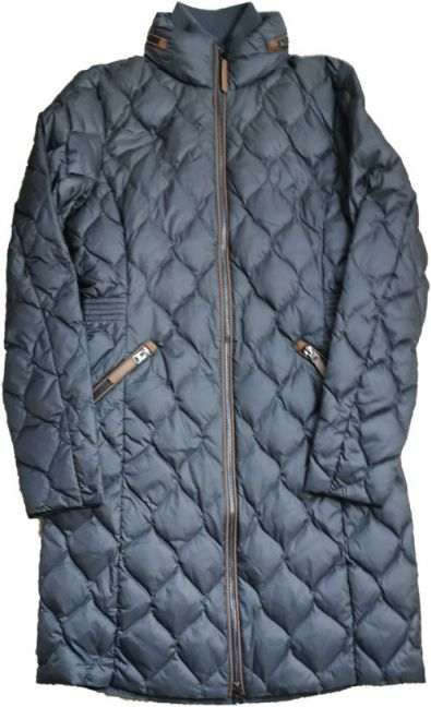 Ex Store Quilted Jacket Grey